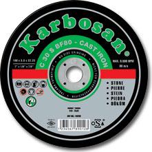 Rezna ploča za Beton 180mmx3.0x22 Karbosan