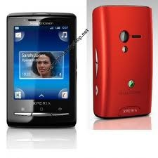Mobilni telefon X10 mini, Black with Red 1237-6099 Sony Ericsson