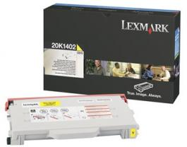Toneri za Color lasere CLJ C510 High Yield Žuta 6 600str. Pn. 20K1402 LEXMARK