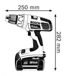 Akumulatorska bušilica-odvrtač Professional GSR 36 V-LI BOSCH