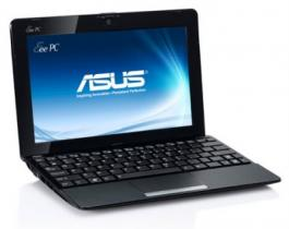"Asus eeePC 1015B-BLK011S AMD Single Core C30/10, 1""/BT/WIN 7 START/Black Netbook"