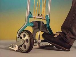 Transportna kolica na sklapanje nosivosti 70kg TS 600 WOLFCRAFT