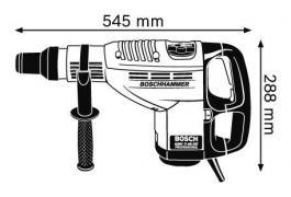 Elektropneumatska bušilica - čekić GBH 7-46DE  1350W BOSCH