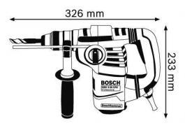 Elektropneumatska bušilica-štemarica GBH 3-28 DRE BOSCH