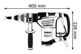 Elektropneumatska bušilica-štemarica GBH 4-32 DFR BOSCH