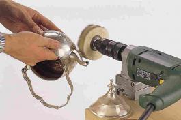Četka za poliranje od Sisal-užadi prihvat 10 mm WOLFCRAFT