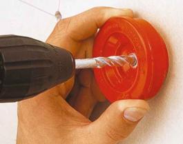 Sakupljač prašine za burgije  Ø 4 - 8 mm WOLFCRAFT