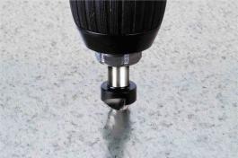 Upuštač HSS prihvat 8 mm Ø 12, 45° WOLFCRAFT