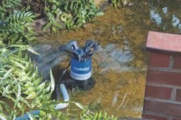 Pumpa potapajuća za prljavu vodu PS 7500S METABO