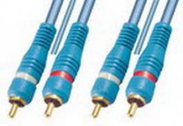 HiFi audio kabel A3OFC1-1,5 m pozlaćeni priključci