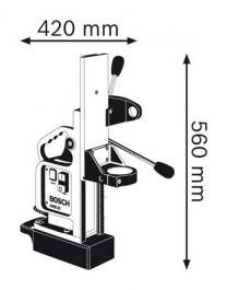 Magnetni stalak za bušenje GMB 32 Professional BOSCH