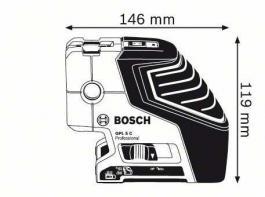 GPL 5C nivelator + stativ BS 150 Bosch