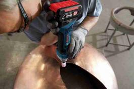 Akumulatorska ravna brusilica 18 V-LI Bosch GGS