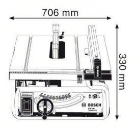 Stona kružna testera GTS10 J Bosch