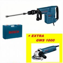 Hamer za štemovanje-razbijanje GSH 11 E Professional + Ugaona brusilica GWS 1000 Professional BOSCH Akcija