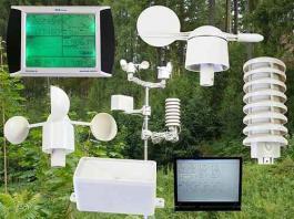 Profesionalna meteorološka stanica sa touch-screen displejom PCE-FWS 20