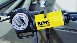 """Električna nareznica navoja cevi Amigo 1/2"""" do 2"""" Rems"""