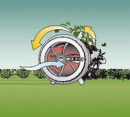 Električni provetravač trave AVR 1100 BOSCH