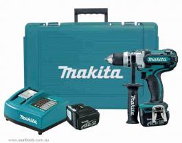 Akomulatorska bušilica-odvrtač BDF444RFE Makita