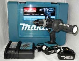 Akumulatorska bušilica-odvrtač 18V BDF454RFE MAKITA