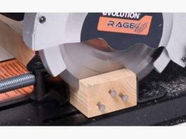 Električna stona testera univerzalna Rage4 185mm Evolution
