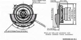 Zvučnici za kola TS-G1012i PIONEER