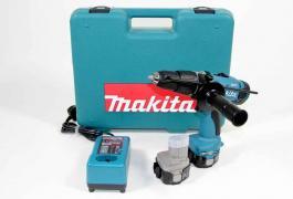 Akomulatorska bušilica 8414DWAE Makita