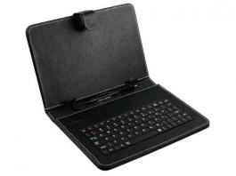 "Tastatura za 8"" tablet PC sa futrolom crna XWAVE"