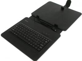 "Tastatura za 9"" tablet PC sa futrolom crna XWAVE"