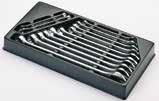 Garnitura 125/2 viljuškasto-okastih ključeva u plastičnom ulošku 965/2AKS Unior