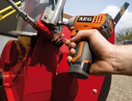 Akumulatorski udarni odvrtač BSS 12C LiJon AEG