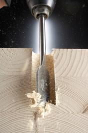 Burgija za drvo ravna 18x157mm Irwin
