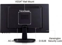 "LED monitor 18.5"" VA1921A VIEWSONIC"