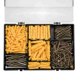 Klaser - set šrafovi i tiplovi (500kom) BEOROL