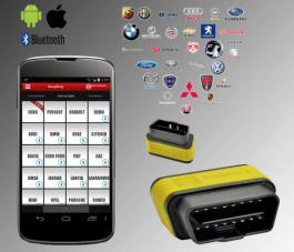 Uredjaj za dijagnostiku vozila za Android i IOS Easy Diag Launch