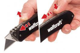 Džepni nož od aluminijuma Wolfcraft