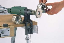 Držač za električne bušilice plastični Wolfcraft