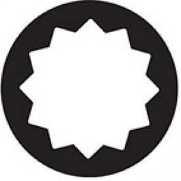 "Garnitura nasadnih impact ZX profil ključeva 1/2""-ZX/8 YATO"