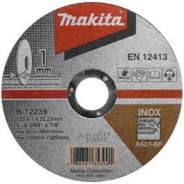 Rezna ploča za INOX 125mmx1x22 MAKITA