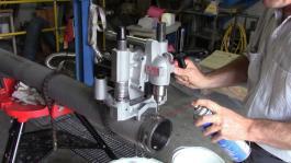 Alat za bušenje rupa u cevima HC-300 + sprej 600 ml Ridgid