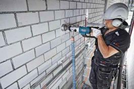 Bušilica za bušenje dijamantskim krunama GDB 180 WE Professional Bosch