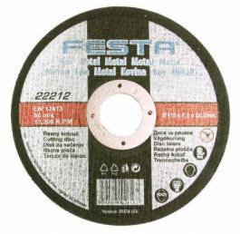 Rezna ploča za metal 125mmx2.5x22.2 FESTA