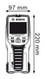 Detektor D-Tect 150 SV Professional Bosch