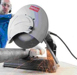 Testera kružna za metal 355mm CS 23-355 + rezna ploča za čelik METABO