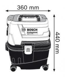 Usisivač za mokro i suvo usisavanje GAS 15 PS Professional Bosch