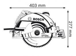 Ručna kružna testera GKS 235 Turbo Professional Bosch