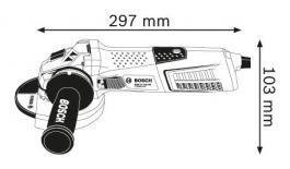 Ugaona brusilica GWS 13-125 CIE Professional Bosch