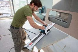 Ručna kružna testera GKS 55+ G Professional Bosch