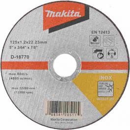 Rezna ploča za INOX 125mmx1.6x22 MAKITA