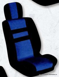 Auto presvlake komplet univerzalne EKO plavo-crne IS 11-2